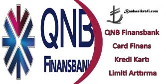 finansbank kredi kartı limiti arttırma