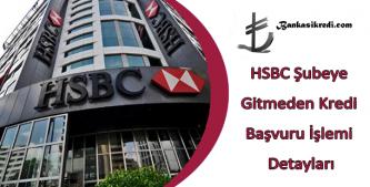 hsbc online kredi