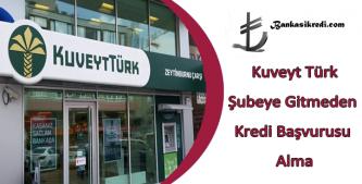 kuveyt türk online kredi