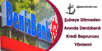 denizbank online kredi