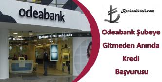 odeabank online kredi