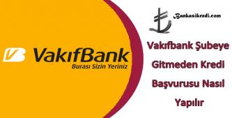 vakıfbank online kredi