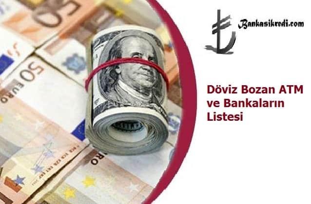 doviz bozan bankalar